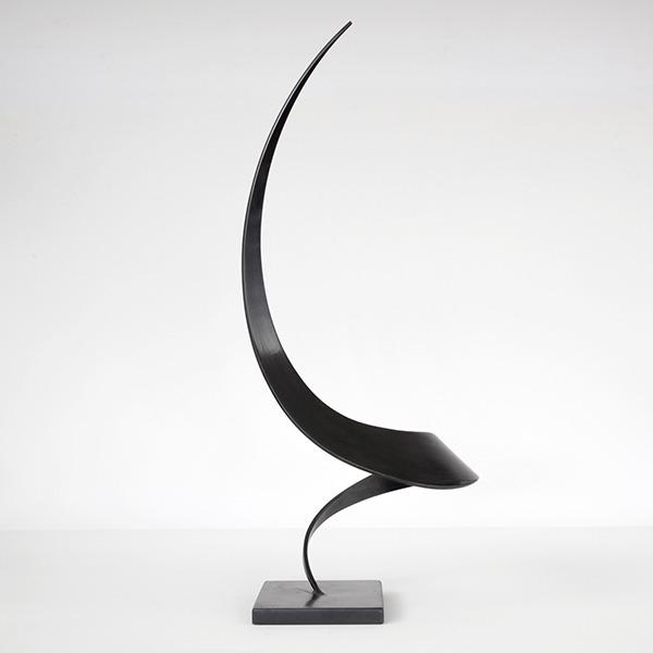 sculpture metallique de Guerrier f essor en vente sur le site web de la galerie d'art Galerie 22