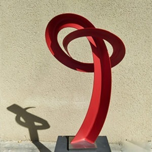 Sculpture contemporaine abstraite de Francis Guerrier