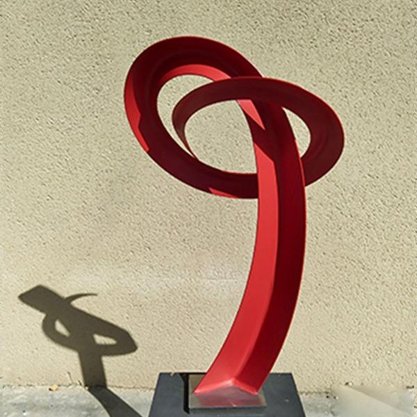 Sculpture contemporaine abstraite de Francis Guerrier