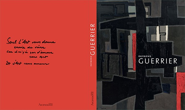 book for the 100 years of raymond guerrier available in the blind of the gallery22
