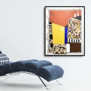 acrylique sur toile de danielle prijikorski artiste peintre en vente dans la galerie en ligne de la galerie 22