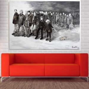large format canvas available in the store of Galerie 22