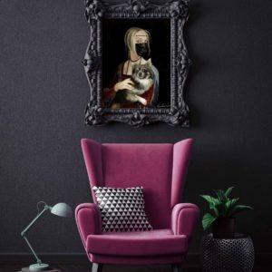 peinture huile sur toile de sveta marlier en vente dans la boutique en ligne de la galerie 22.