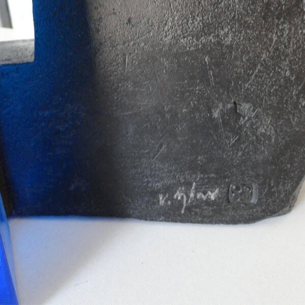 blue door a work by von sydow