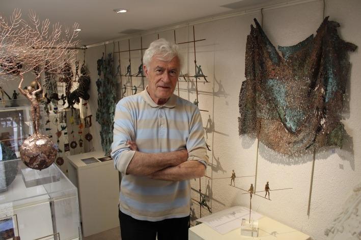 Gilles candelier sculpteur de la galerie 22