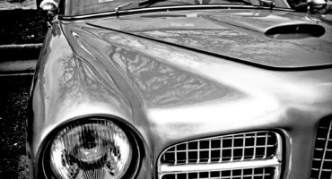 photographie automobile facel vega tirage sur aluminium en vente dans le store de la galerie 22.