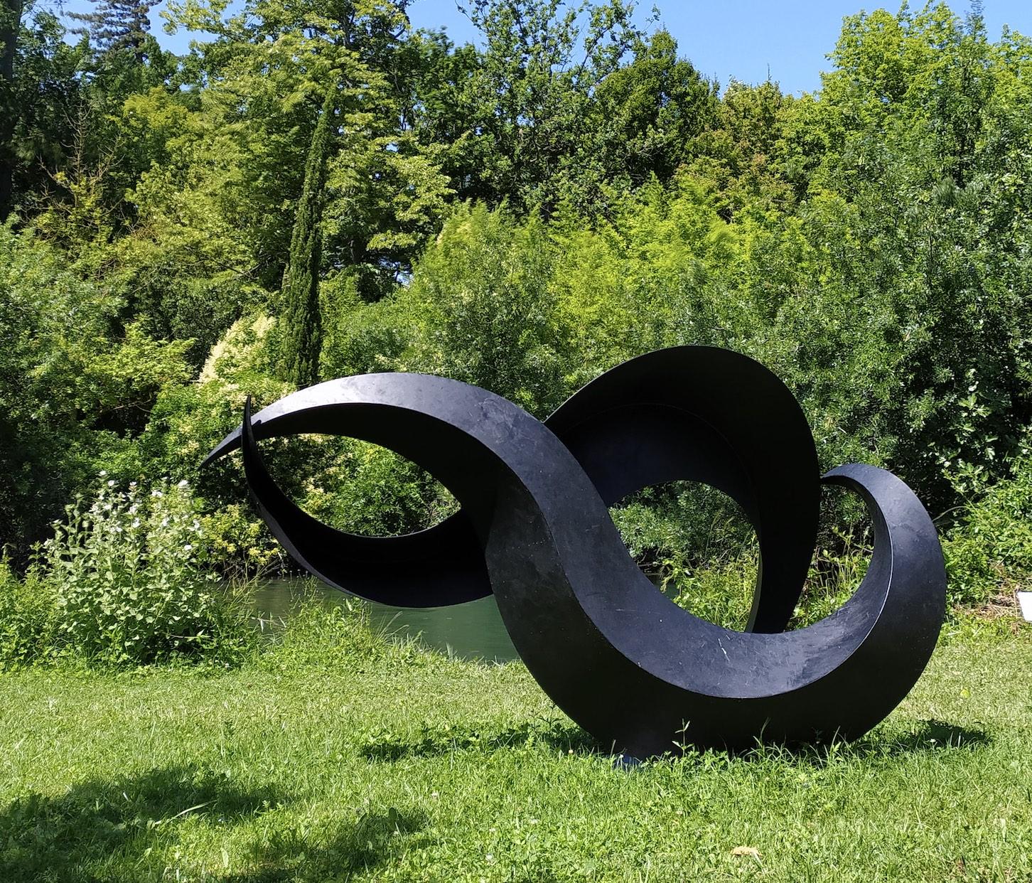 sculpture métal pour le jardin de francis guerrier en vente dans le store de la galerie 22