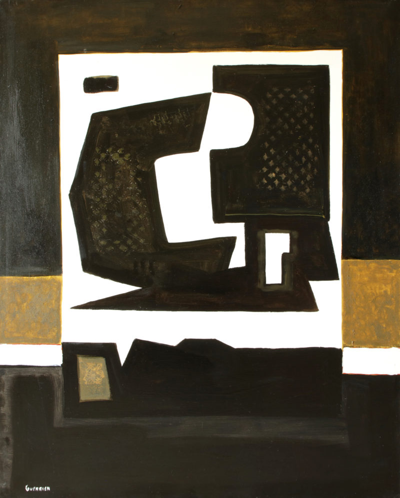 oil on canvas modern and contemporary art of raymond guerrier on sale in the store of the gallery 22.