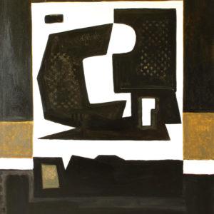 huile sur toile art moderne et contemporain de raymond guerrier en vente dans le store de la galerie 22.