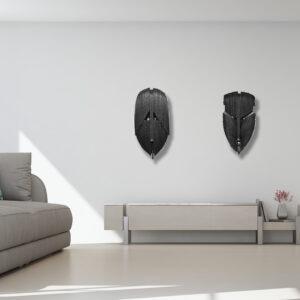 sculpture en carton de pierre riba dans intérieur design et contemporain