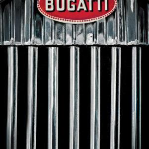 bugatti automobile photography, aluminium print for sale in the gallery 22 store.