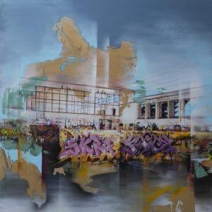 acrylique sur toile de frederick gagné en vente dans le store de la galerie 22